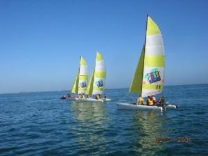 les sports nautiques en classe de mer