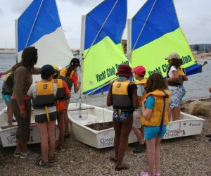 Activités nautiques en classe de mer