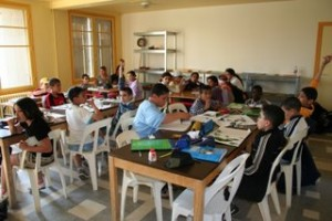 salle de classe adaptée