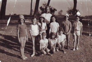 souvenir de vacance à massacan en 1966